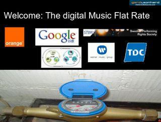 Gerd leonhard welcome the digital music flat rate