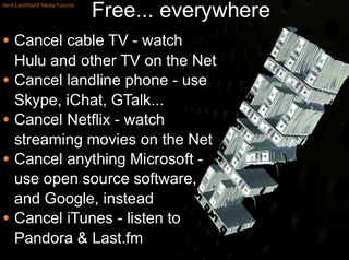 Free everywhere Gerd Leonhard