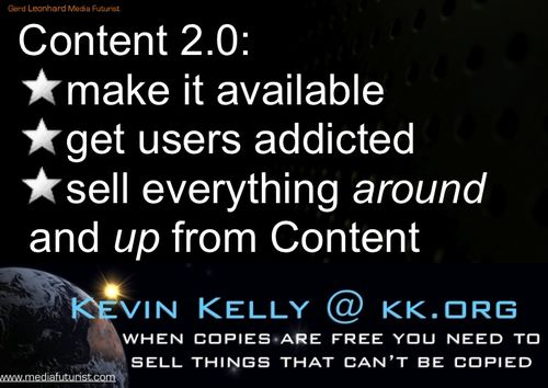 Content 2.0 make available Gerd Leonhard