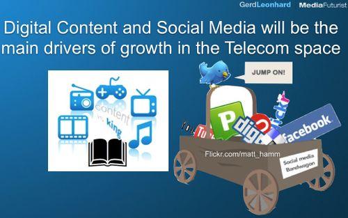 Digital content telco media growth social net gerd leonhard