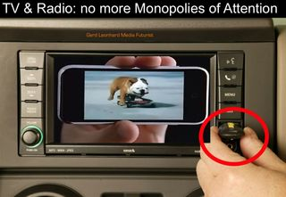 TV Radio no more monopolies of attention