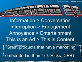 Advertising future 2.0 gerd leonhard futurist