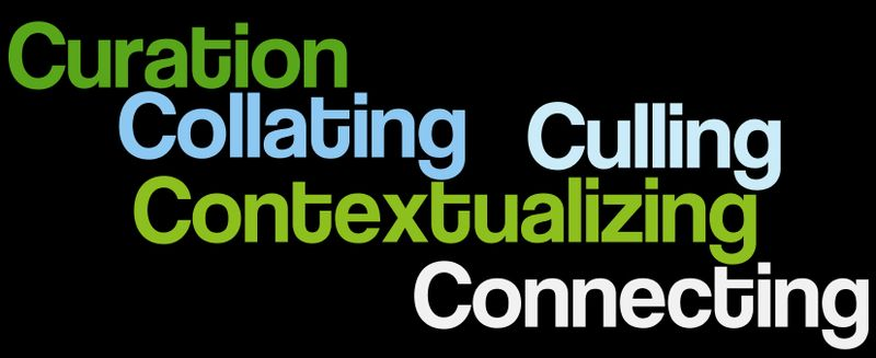Curation culling context wordle