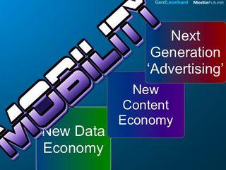 New content new data economy gerd leonhard