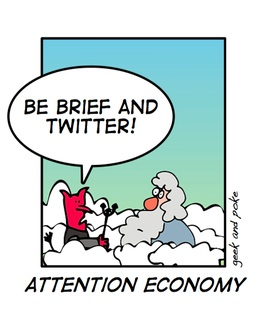 Twitter brief attention geek and poke
