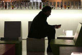 Gerd Leonhard iPhone addict Siemens Rome
