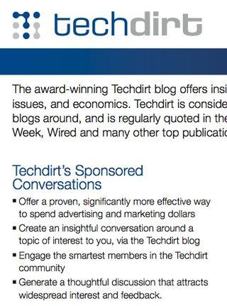 Techdirt sponsored conversations