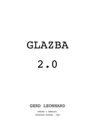 Glazba 2.0 COVER