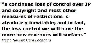 Loss of control japaninc gerd leonhard quote