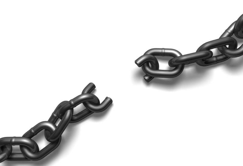 Chain broken IS