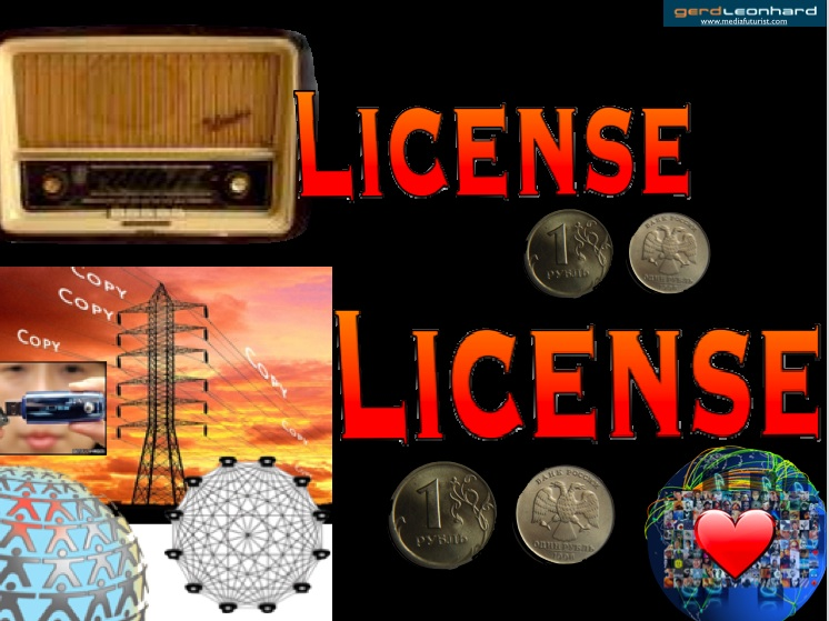 Gerd leonhard radio internet license