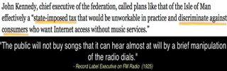 Kennedy isle of man radio quote