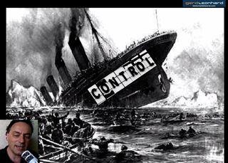 Gerd Leonhard Control Ship sinking video