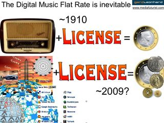 Gerd leonhard digital music flat rate is inevitable