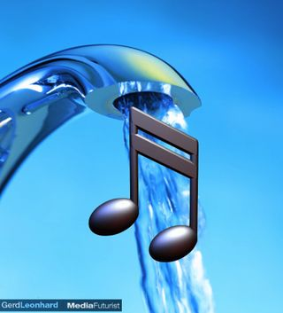 Music Like Water Gerd Leonhard Futurist