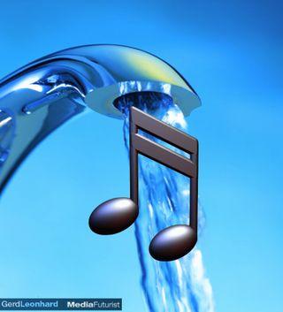 Music Like Water Gerd Leonhard Futurist