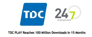 TDC 100 Millio downloads