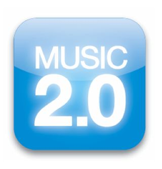 Music 2.0 book icons