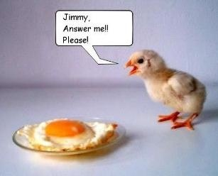 Chicken egg answer me funny