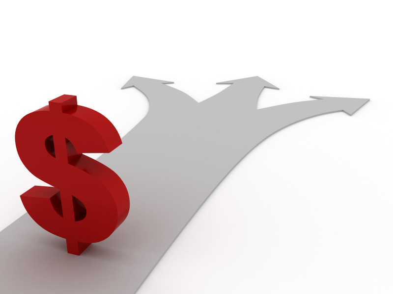 Money oppor which way istock
