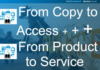 Copy to service access gerd leonhard futurist