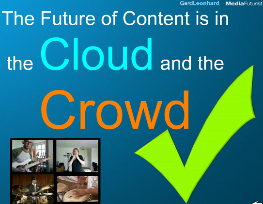 Content cloud crowd gerd leonhard kutiman