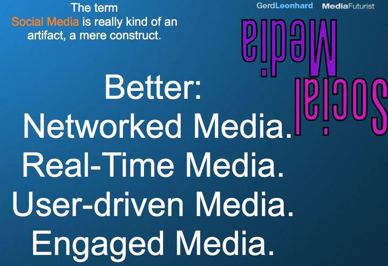 Social media redefinition gerd leonhard