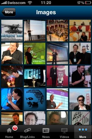 Gerd media futurist iPhone app images