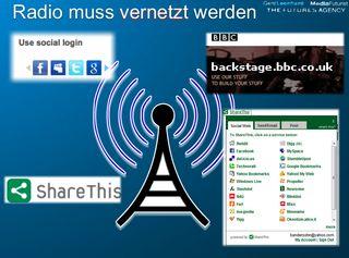 Radio muss vernetzt werden @gleonhard