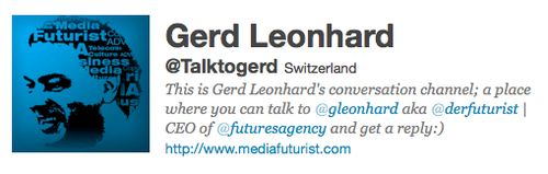 Talktogerd gerd leonhard twitter icon