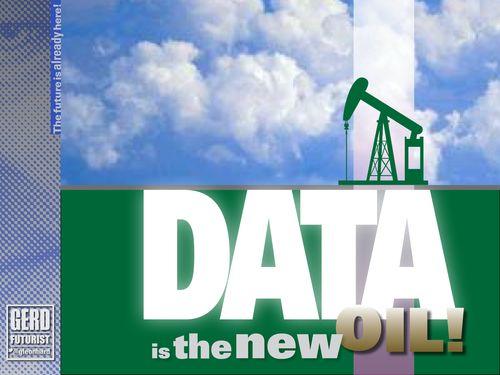Futurist gerd data is the new oil