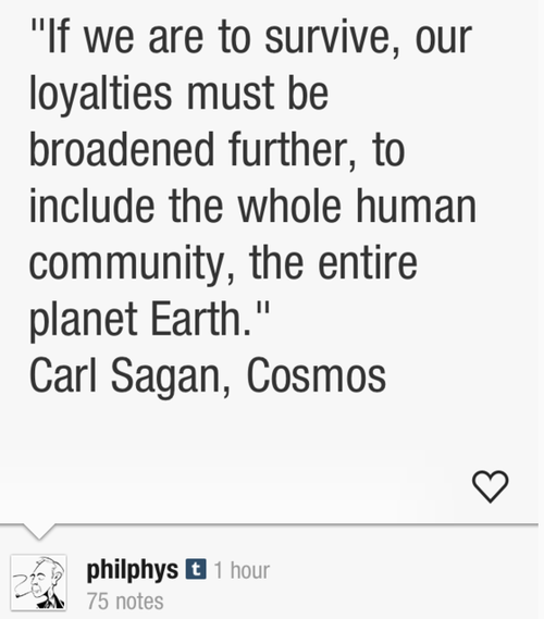 Sagan Message Gerd Leonhard Futurist Tumblr