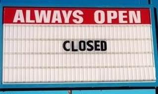 Struggle open closed
