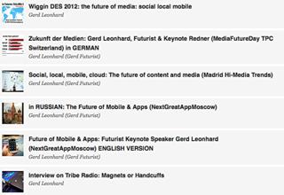 Gerd Leonhard new podcasts futurist