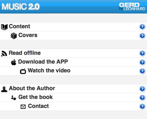 Music 2.0 mobile