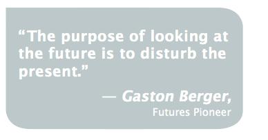 Quote future disturb the present