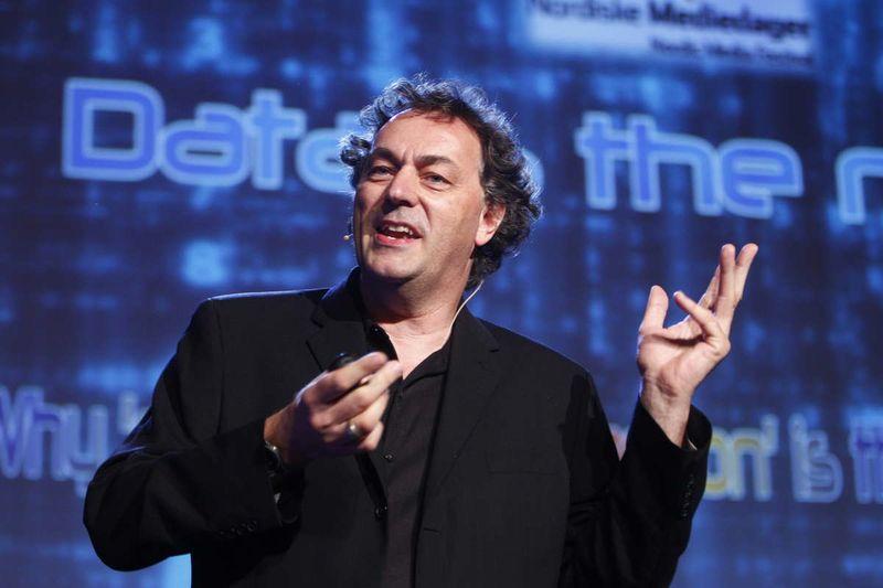 Gerd leonhard speaks data oil