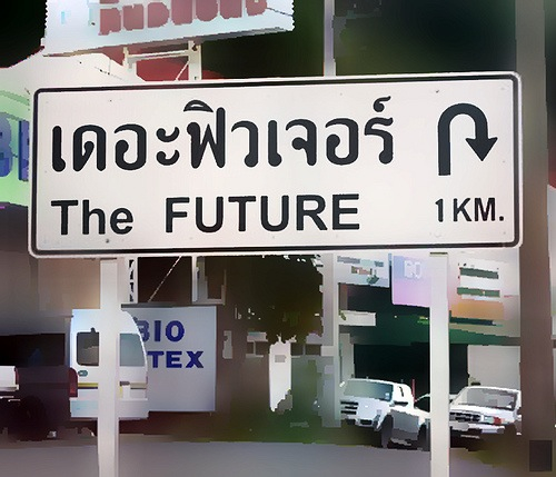 Thai future return sign