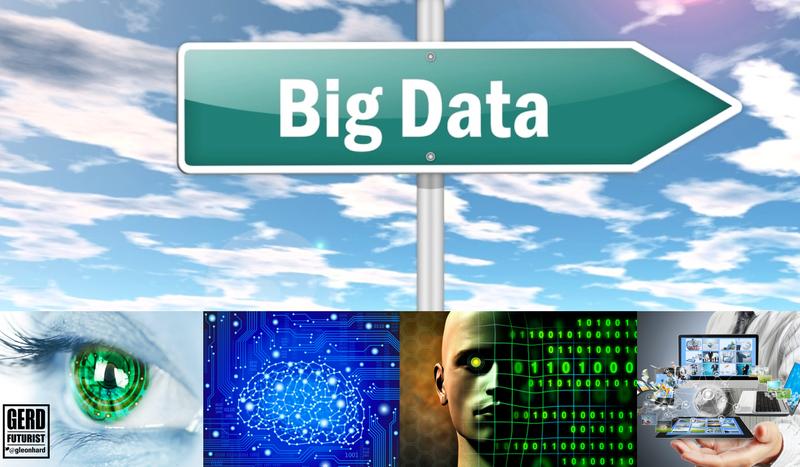 Big data signs gerd leonhard futurist speake