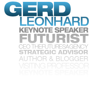 Gerd Leonhard - MediaFuturist, Author, Blogger and Keynotespeaker