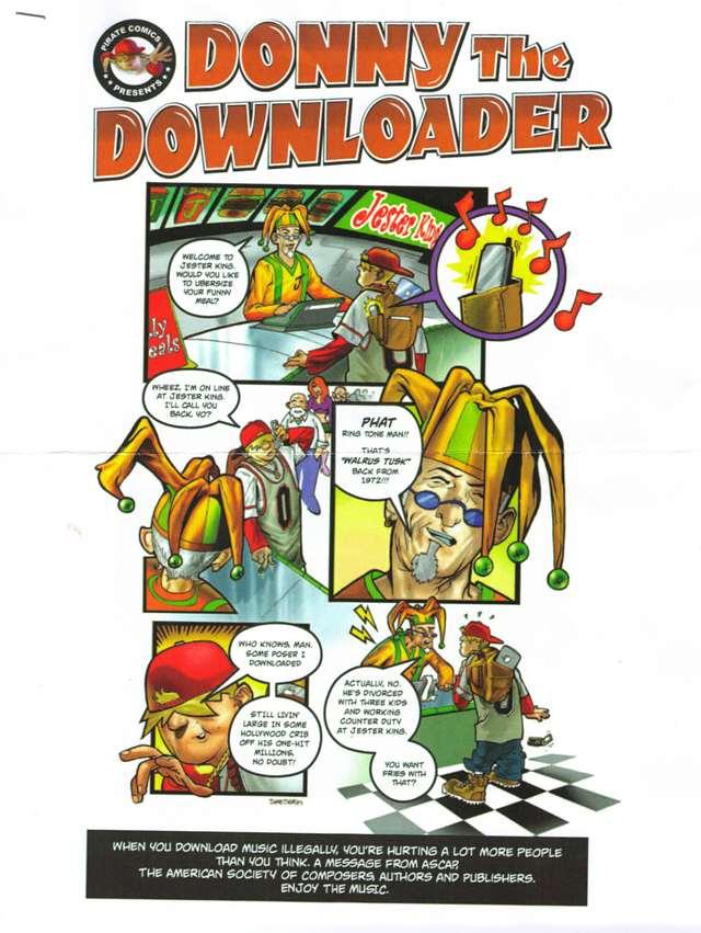 Donny the Downloader